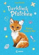 Cover-Bild zu Daniels, Lucy: Tierklinik Pfötchen (Band 3) - Kleiner Fuchs in Not