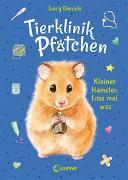 Cover-Bild zu Daniels, Lucy: Tierklinik Pfötchen (Band 6) - Kleiner Hamster, friss mal was