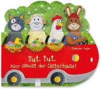 Cover-Bild zu Kugler, Christine: Tut, tut, hier saust der Osterhase!