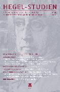 Cover-Bild zu Sandkaulen, Birgit (Hrsg.): Hegel-Studien Band 53/54 (eBook)