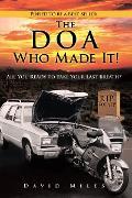 Cover-Bild zu Miles, David: The Doa Who Made It! (eBook)