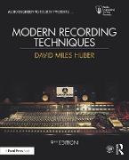 Cover-Bild zu Huber, David Miles: Modern Recording Techniques (eBook)