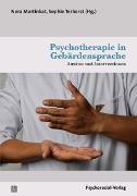 Cover-Bild zu Martinkat, Nora (Beitr.): Psychotherapie in Gebärdensprache (eBook)