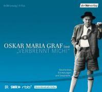 "Cover-Bild zu ""Verbrennt mich!"" von Graf, Oskar Maria"