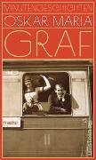 Cover-Bild zu Minutengeschichten von Graf, Oskar Maria