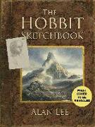 Cover-Bild zu The Hobbit Sketchbook von Lee, Alan