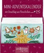 Cover-Bild zu Display Adventskalender zum Verschicken