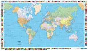 Cover-Bild zu Welt politisch 1:50 Mio. Poster. 1:50'000'000