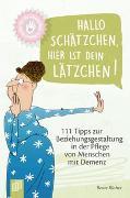 Cover-Bild zu Kleine Helfer für die Altenpflege: Hallo Schätzchen, hier ist dein Lätzchen! von Rüther, Beate