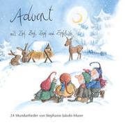 Cover-Bild zu Advent mit Zipf, Zapf, Zepf und Zipfelwitz / 24 Mundartlieder, Audio-CD