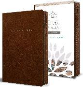 Cover-Bild zu Biblia Reina Valera 1960 letra grande. Símil piel canela, cremallera, tamaño manual / Spanish Bible RVR 1960. Handy Size, Large Print, Leathersoft, Brown Zip