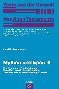 Cover-Bild zu Mythen und Epen III (eBook) von Junge, Friedrich
