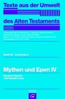 Cover-Bild zu Mythen und Epen IV von Dietrich, Manfried