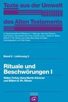 Cover-Bild zu Rituale und Beschwörungen I von Farber, Walter