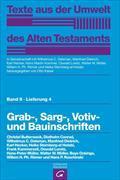 Cover-Bild zu Grab-, Sarg-, Votiv- und Bauinschriften von Butterweck, Christel