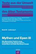 Cover-Bild zu Mythen und Epen III von Blumenthal, Elke