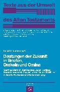Cover-Bild zu Deutungen der Zukunft in Briefen, Orakeln und Omina (eBook) von Sternberg-el Hotabi, Heike