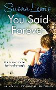 Cover-Bild zu You Said Forever (eBook) von Lewis, Susan