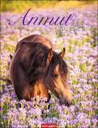 Cover-Bild zu Die Anmut der Pferde Kalender 2022 von Slawik, Christiane