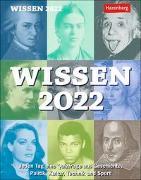 Cover-Bild zu Wissen Kalender 2022 von Budde, Berthold