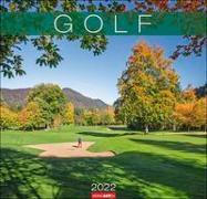 Cover-Bild zu Golf Kalender 2022 von Weingarten (Hrsg.)
