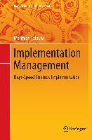 Cover-Bild zu Implementation Management von Kolbusa, Matthias