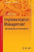 Cover-Bild zu Implementation Management (eBook) von Kolbusa, Matthias
