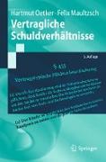 Cover-Bild zu Vertragliche Schuldverhältnisse (eBook) von Oetker, Hartmut