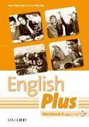 Cover-Bild zu English Plus: 4: Workbook with MultiROM