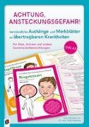 Cover-Bild zu Achtung, Ansteckungsgefahr! - Verständliche Aushänge und Merkblätter zu übertragbaren Krankheiten