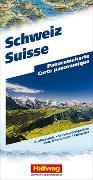 Cover-Bild zu Hallwag Kümmerly+Frey AG (Hrsg.): Schweiz Panoramakarte. 1:0