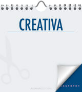 Cover-Bild zu Creativa immerwährend M dunkelblau / perpétuel M bleu foncé