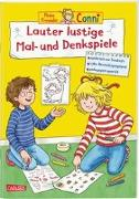 Cover-Bild zu Sörensen, Hanna: Conni Gelbe Reihe: Lauter lustige Mal- und Denkspiele