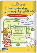 Cover-Bild zu Sörensen, Hanna: Conni Gelbe Reihe: Herausgefunden! Labyrinthe-Rätsel-Spaß