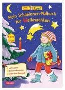 Cover-Bild zu Sörensen, Hanna: Conni Gelbe Reihe: Mein Schablonen-Malbuch für Weihnachten