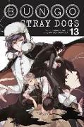 Cover-Bild zu Bungo Stray Dogs, Vol. 13 von Kafka Asagiri