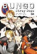 Cover-Bild zu Bungo Stray Dogs 04 von Asagiri, Kafka
