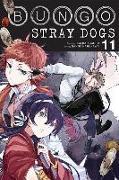Cover-Bild zu Bungo Stray Dogs, Vol. 11 von Kafka Asagiri