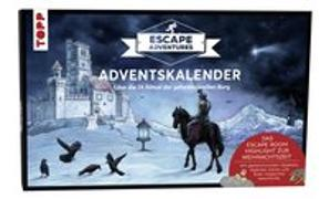 Cover-Bild zu Zimpfer, Simon: Adventskalender Escape Adventures - Die geheimnisvolle Burg