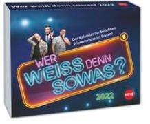 Cover-Bild zu Heye (Hrsg.): Wer weiß denn sowas? Tagesabreißkalender 2022
