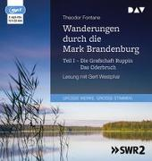 Cover-Bild zu Fontane, Theodor: Wanderungen durch die Mark Brandenburg - Teil I: Die Grafschaft Ruppin / Das Oderbruch