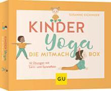 Cover-Bild zu Eichinger, Susanne: Kinderyoga - Die Mitmach-Box
