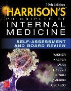 Cover-Bild zu Harrison's Principles of Internal Medicine Self-Assessment and Board Review von Wiener, Charles M.