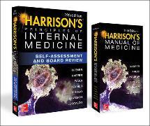 Cover-Bild zu Harrison's Principles of Internal Medicine Self-Assessment and Board Review, 19th Edition and Harrison's Manual of Medicine 19th Edition Val Pak von Kasper, Dennis
