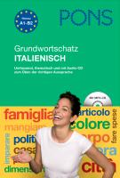 Cover-Bild zu PONS Grundwortschatz Italienisch