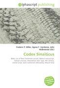 Cover-Bild zu Codex Sinaiticus von Miller, Frederic P. (Hrsg.)