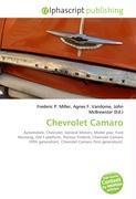 Cover-Bild zu Chevrolet Camaro von Miller, Frederic P. (Hrsg.)
