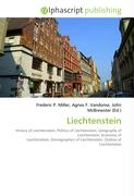 Cover-Bild zu Liechtenstein von Miller, Frederic P. (Hrsg.)