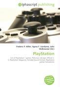 Cover-Bild zu PlayStation von Miller, Frederic P. (Hrsg.)