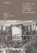 Cover-Bild zu Geschichte des deutschen Buchhandels im 19. und 20. Jahrhundert. Band 3: Drittes Reich. Teilband 1 (eBook) von Fischer, Ernst (Hrsg.)